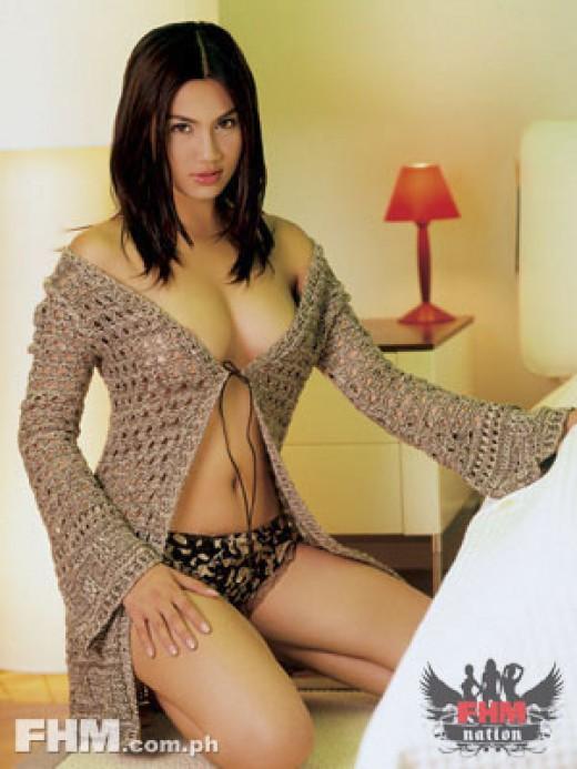 Beautiful and Sexy Filipino Actress Diana Zubiri