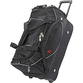 Athalon Black #222 Wheeled Carry-on Duffel        http://www.airlineinternational.net/at22whcaduwi.html