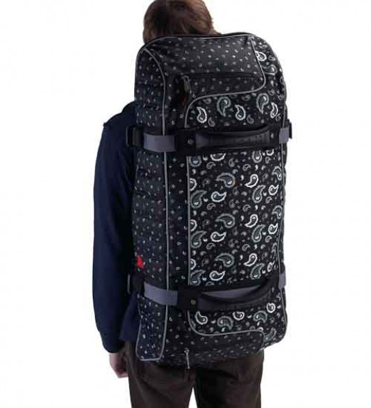 Athalon Bandana #232-Shown detached with top portion backpack    http://www.airlineinternational.net/at32dodebadu.html