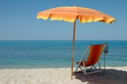 Beach Umbrellas - so you don't toast in the sun!