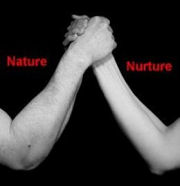 Nature vs Nurture Venn Diagram