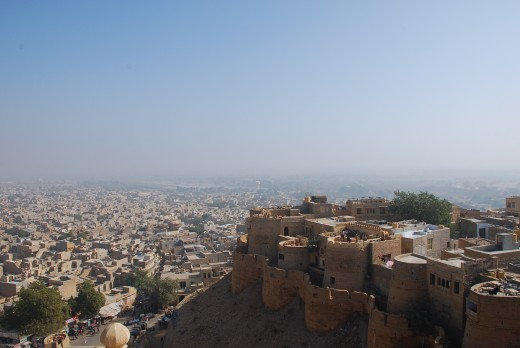Jaisalmer fort & the city