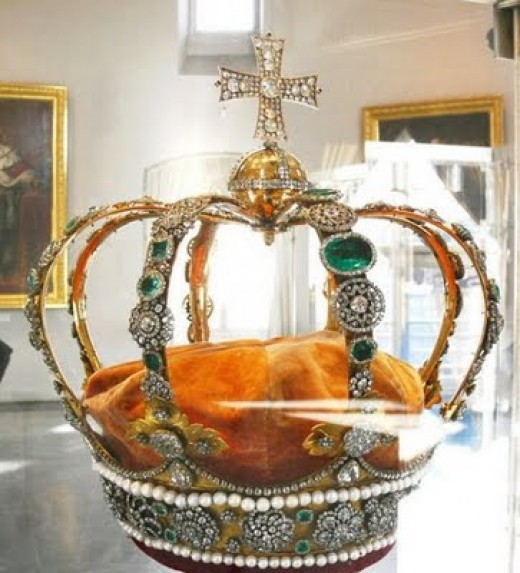 The Crown has always been the ultimate symbol of royalty.