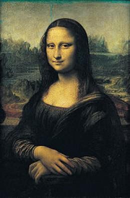 La Giaconda Mona Lisa, The Louvre France