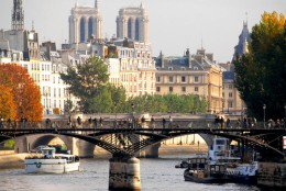 The River Seine, a bridge