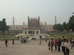 View of the Mosque from the Fort entrance