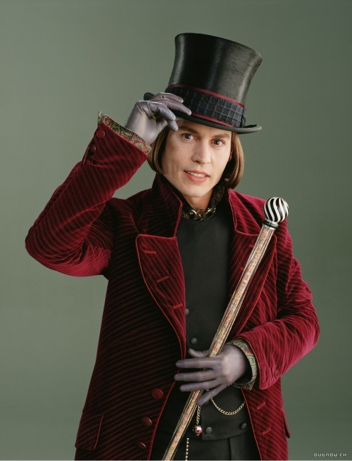 Johnny Depp is fantastic as the amazing Willie Wonka.