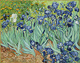 Irises (1889), Getty Center, Los Angeles