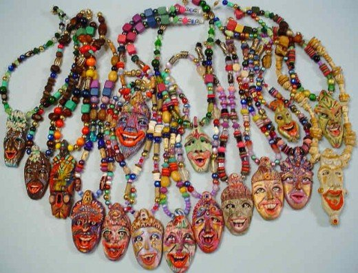 Tiki Necklaces-assorted
