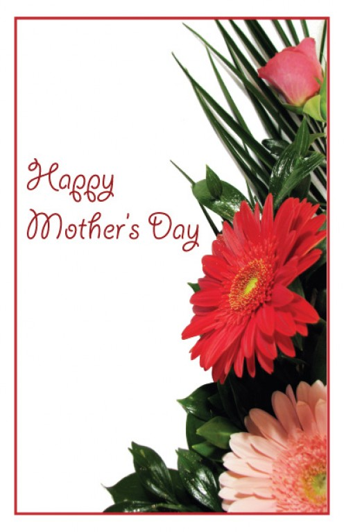Mothers Day Cards can be attached to your Gift for Mom.