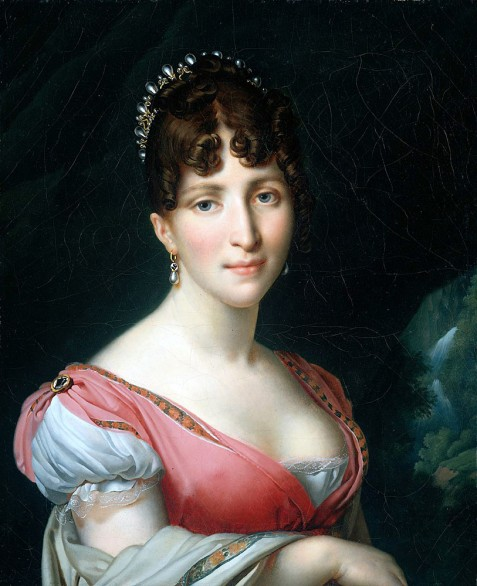 Napoleon's step-daughter and composer of many popular songs, despite her inability to read or write musical notation.