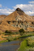 Sheep Rock in Central Oregon - John Day National Monument