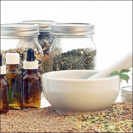 Herbal healing remedies