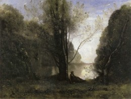 Solitude by Camille Corot