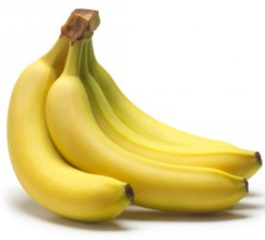 Banana contains vitamin B which is essential for skin.
