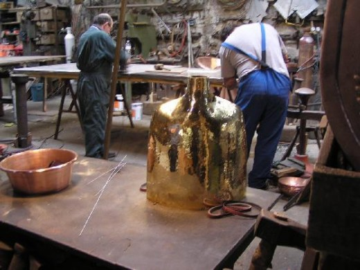 A Coppersmiths workshop