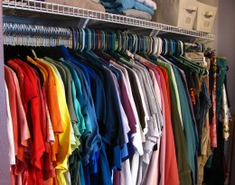 Closet Organization      [flickr.com/photos/perspicacious]