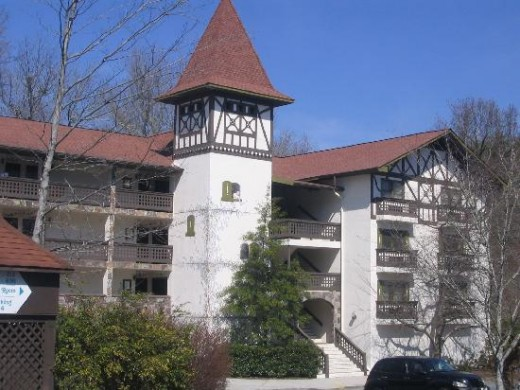 Heldorf Inn and Conference Center in Alpine Helen, GA.