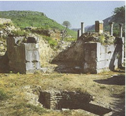 St Mary's Church in Ephesus Ruins,  where in 431AD the the controversity of Virgin Mary's and the Devinity of Christ  were settled.