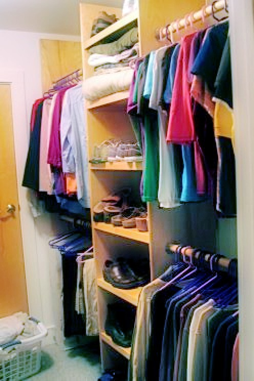Newly organized closet     [flickr.com/photos/kimtimnashville/]