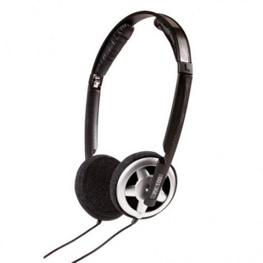 Sennheiser px 100 collapsible headphones.