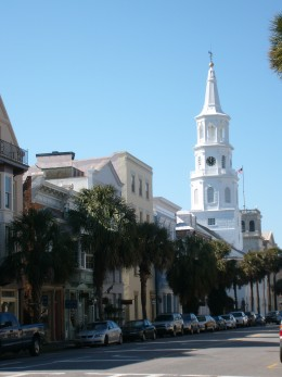 St. Michael's Church, the oldest church in Charleston