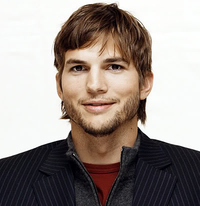 Ashton Kutcher Shag Haircut