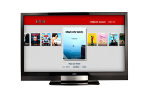 Netflix streaming movies on VIZIO Apps -- image credit: Netflix.com
