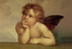 Isn't cupid cute? Beware of the son of the goddess of love! Don't be captured by his innocent look!