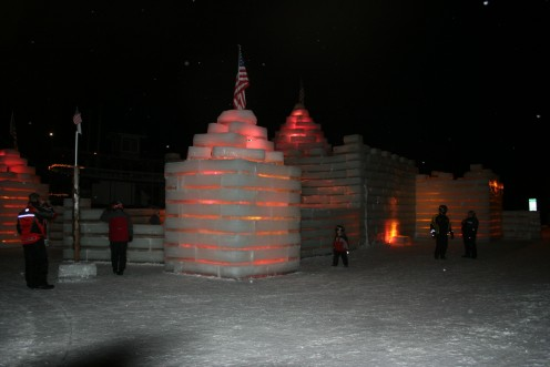 Ice Castle Side View