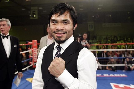 Pacquiao who watched Pinoy Power 3, Feb. 14 Manila Tine, took advantage of the boxing schedule to talk and solicite financial aid from the huge boxing fans in behalf of boxer Z Gorres who is now home in the Philippines following his  miraculous recov