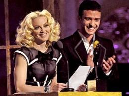 Madonna with Justin Timberlake