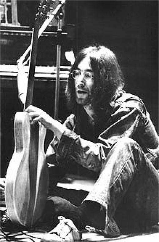 John Lennon-the ultimate intellectual Rock & Roller.