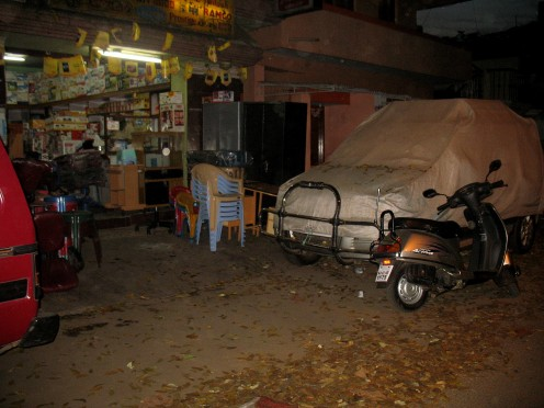 Car Park,2 Wheeler Park & Shops selling items kept on Side walk and on the Road 24x7.No Law.