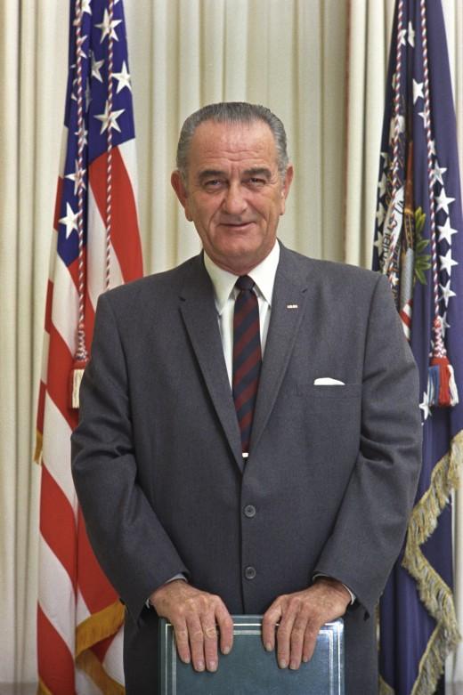 PRESIDENT LYNDON BAINES JOHNSON