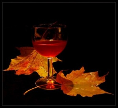 Autumn Wines         Autumn wines born of springs best    Aged and seasoned through years unrest    Tasted and savored when put to test    In sleep and death do finally rest    (Mr. Wayne Wilks)