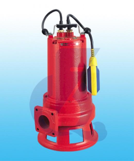A grinder sewage pump.