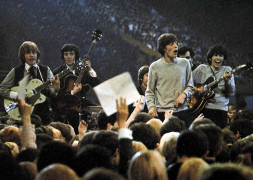 Touring with the Stones in 1964