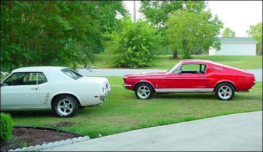 1967 Fastback and 1969 Hardtop