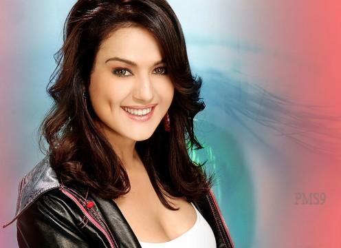 Preity Zinta smiling face
