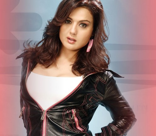 Nice pose of Preity