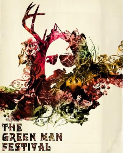 Green Man Festival Logo