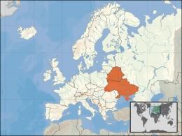 Modern Ruthenian states: Ukraine and Belarus