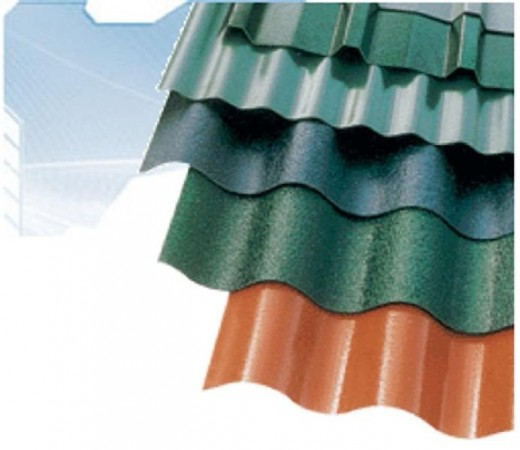 Corrugated polycarbonate roofing panels