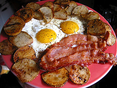 Bacon and Fried eggs are out for the Moment