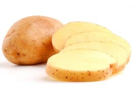 Reduce puffiness with cold potato slices!