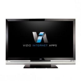 View VUDU streaming high definition movies on VIZIO Internet Apps HDTV -- image credit: amazon.com