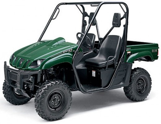 Yamaha Rhino without Factory Door Addition
