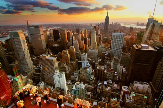 """New York Sunset - HDR"" by fergusonphotography from Flickr. Original URL: http://www.flickr.com/photos/fergusonphotography/3056953388/"