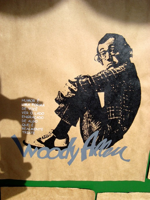 """Woody Allen"" by Mayra F. from Flickr. Original URL: http://www.flickr.com/photos/may_inthesky/3766357571"